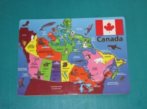 Canada Puzzle - Completed